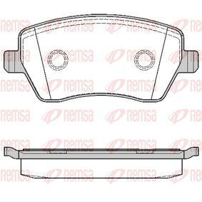 2011 Nissan Note E11 1.4 Brake Pad Set, disc brake 0987.00