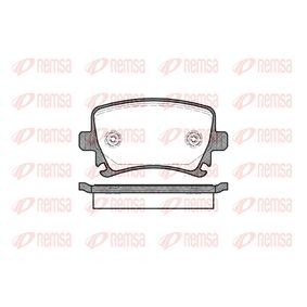 Bremsbelagsatz, Scheibenbremse Höhe: 56mm, Dicke/Stärke: 17mm mit OEM-Nummer 3C0-698-451-F