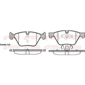 Bremsbelagsatz, Scheibenbremse Höhe: 63,6mm, Dicke/Stärke: 20mm mit OEM-Nummer 34 11 6 777 772