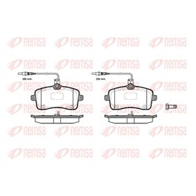 Bremsbelagsatz, Scheibenbremse Höhe: 66,8mm, Dicke/Stärke: 19,5mm mit OEM-Nummer 4253.32