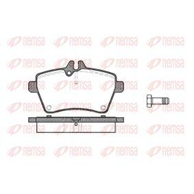 Bremsbelagsatz, Scheibenbremse Höhe: 64mm, Dicke/Stärke: 18,8mm mit OEM-Nummer 169 420 1020