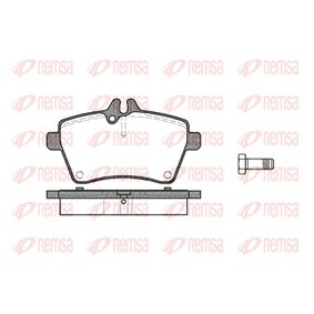 Brake Pad Set, disc brake Height: 64mm, Thickness: 18,8mm with OEM Number 1694202020