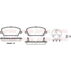 Juego de pastillas de freno 1205.02 CIVIC 8 Hatchback (FN, FK) 1.4 (FK1) ac 2021