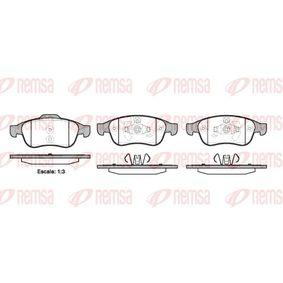 Bremsbelagsatz, Scheibenbremse Höhe 1: 64,7mm, Höhe 2: 59,4mm, Dicke/Stärke: 18mm mit OEM-Nummer 41 06 071 15R