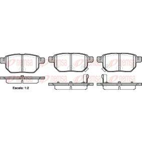 Brake Pad Set, disc brake Article № 1286.02 £ 140,00