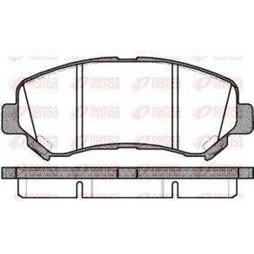 Brake Pad Set, disc brake Article № 1318.00 £ 140,00