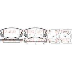Brake Pad Set, disc brake Article № 1375.12 £ 140,00