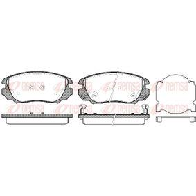 Bremsbelagsatz, Scheibenbremse Höhe: 59,6mm, Dicke/Stärke: 19mm mit OEM-Nummer 13237750