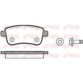Renault Grand Scenic 3 1.6 16V Bifuel Blattfeder REMSA 1387.00 (1.6 E85 Benzin/Autogas (LPG) 2009 K4M 866)