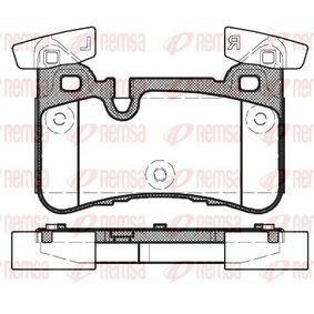 Brake Pad Set, disc brake 1429.00 E-Class Saloon (W212) E 63 AMG 5.5 4-matic (212.076) MY 2014