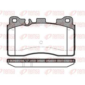 Brake Pad Set, disc brake 1454.00 E-Class Saloon (W212) E 63 AMG 5.5 4-matic (212.076) MY 2014