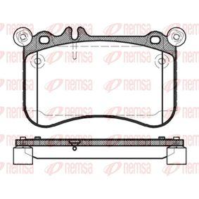 Brake Pad Set, disc brake 1465.00 E-Class Saloon (W212) E 500 4.7 4-matic (212.091) MY 2015