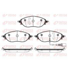 Brake Pad Set, disc brake Article № 1470.01 £ 140,00
