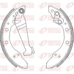 Bremsbackensatz Breite: 40mm mit OEM-Nummer 115331144