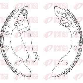 REMSA  4046.01 Bremsbackensatz Breite: 40mm