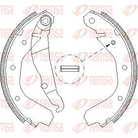 Bremsbackensatz Breite: 46mm mit OEM-Nummer 90509606