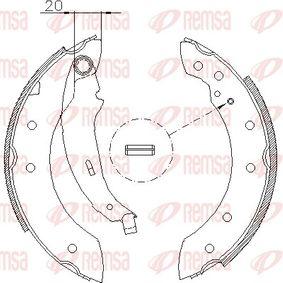 Bremsbackensatz Breite: 39mm mit OEM-Nummer 7701205720