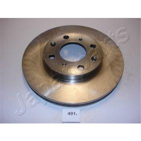Спирачен диск DI-491 Jazz 2 (GD_, GE3, GE2) 1.2 i-DSI (GD5, GE2) Г.П. 2003