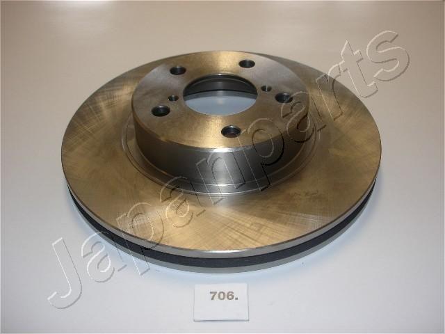 Bremsscheiben DI-706 JAPANPARTS DI-706 in Original Qualität