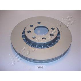 Bremsscheibe Bremsscheibendicke: 23,8mm, Ø: 255,8mm mit OEM-Nummer 5 69 008