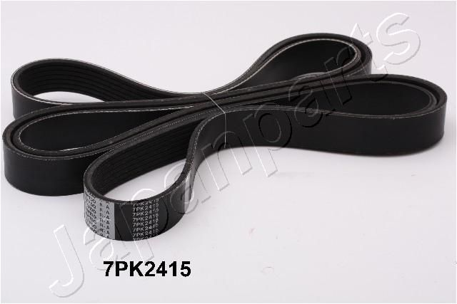 JAPANPARTS  DV-7PK2415 Keilrippenriemen Länge: 2415mm, Rippenanzahl: 7