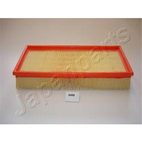 Luftfilter Länge: 312mm, Breite: 150mm, Höhe: 67mm mit OEM-Nummer 178010B020