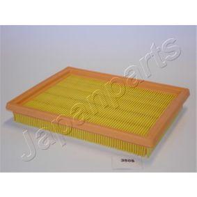 Luftfilter Länge: 216mm, Breite: 168mm, Höhe: 30mm, Länge: 216mm med OEM Nummer 2S61 9601 CA