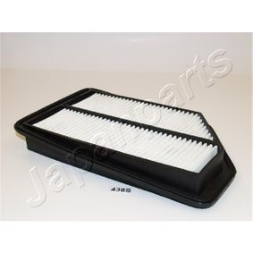 JAPANPARTS  FA-438S Air Filter Length: 305mm, Width: 183mm, Height: 42mm