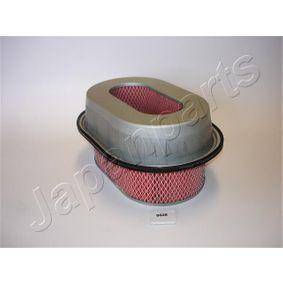 JAPANPARTS  FA-583S Filtro aria Lunghezza interna: 163,8mm, Lunghezza esterna: 289mm, Largh. esterna: 199mm, Alt.: 137mm