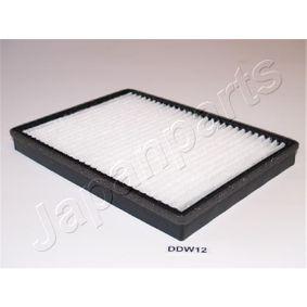 Filter, Innenraumluft Länge: 273mm, Breite: 196mm, Höhe: 27mm mit OEM-Nummer 95599725