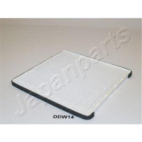 Filter, Innenraumluft Länge: 210mm, Breite: 198mm, Höhe: 10mm mit OEM-Nummer 96425700