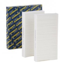 Filter, interior air Length: 224mm, Width: 109mm, Height: 29mm with OEM Number 80292-SCA-E11