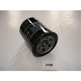 2008 Nissan Note E11 1.6 Oil Filter FO-315S