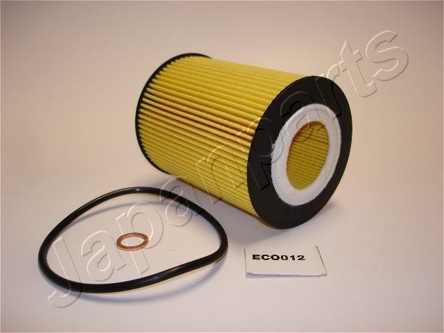 JAPANPARTS  FO-ECO012 Ölfilter Ø: 83mm, Innendurchmesser: 38mm, Länge: 106mm, Länge: 106mm