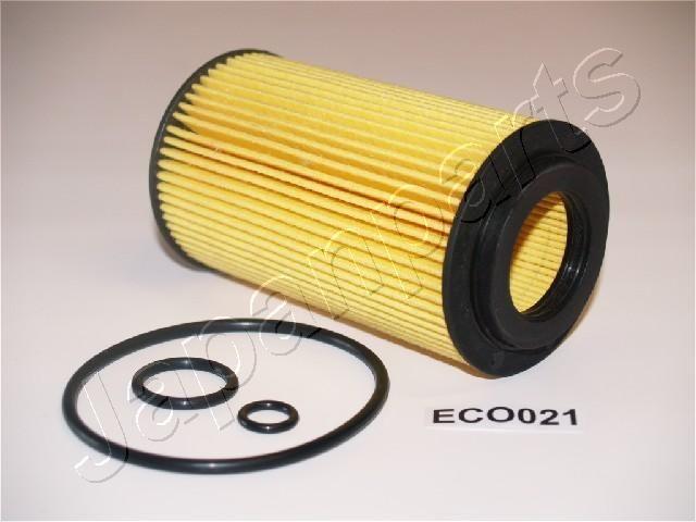 JAPANPARTS  FO-ECO021 Oil Filter Ø: 64mm, Inner Diameter: 31mm, Length: 116mm, Length: 116mm