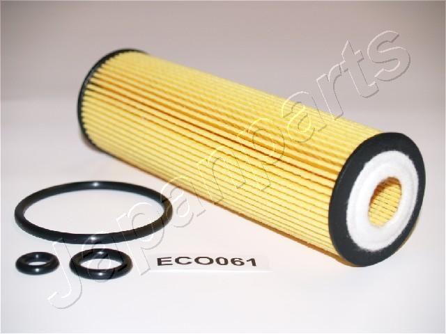 JAPANPARTS  FO-ECO061 Ölfilter Ø: 47mm, Innendurchmesser: 20mm, Länge: 155mm, Länge: 155mm