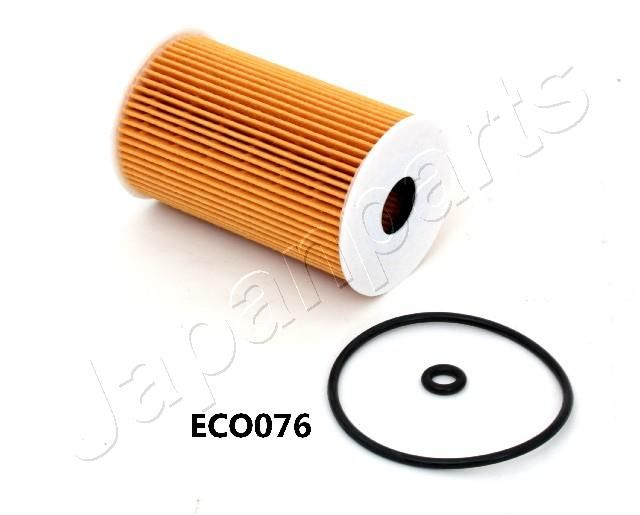 JAPANPARTS  FO-ECO076 Oil Filter Ø: 65mm, Inner Diameter: 20mm, Length: 104mm, Length: 104mm