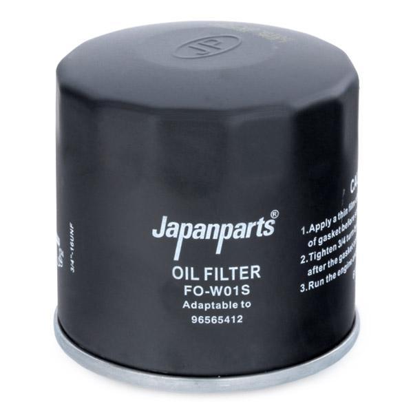 Ölfilter JAPANPARTS FO-W01S 8033001060881