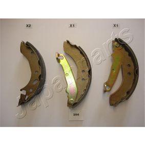 Juego de zapatas de frenos Ancho: 31,2mm con OEM número 1106634