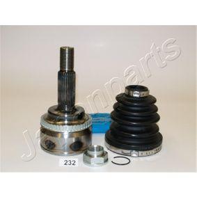 JAPANPARTS  GI-232 Gelenksatz, Antriebswelle Außenverz.Radseite: 26, Innenverz. Radseite: 23, Zähnez. ABS-Ring: 48