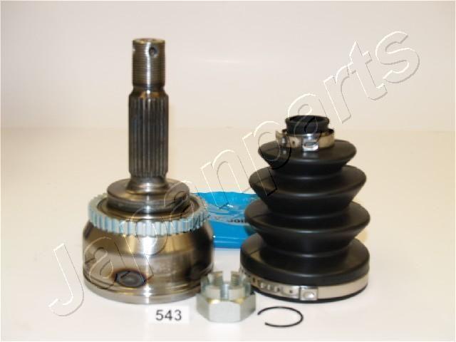 JAPANPARTS  GI-543 Gelenksatz, Antriebswelle Außenverz.Radseite: 25, Innenverz. Radseite: 23, Zähnez. ABS-Ring: 43