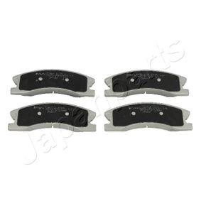 Bremsbelagsatz, Scheibenbremse Höhe: 60mm, Dicke/Stärke: 19mm mit OEM-Nummer 5093260AA