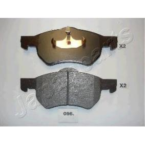Hochleistungs-Bremsbelagsatz mit OEM-Nummer 5015365AA