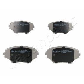 Brake Pad Set, disc brake PA-280AF RAV 4 II (CLA2_, XA2_, ZCA2_, ACA2_) 2.0 D 4WD (CLA20_, CLA21_) MY 2004