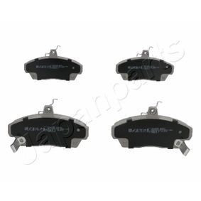 Brake Pad Set, disc brake Height: 68,6mm, Thickness: 17,6mm with OEM Number 45022-SK3-E00