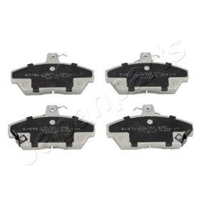 Bremsbelagsatz, Scheibenbremse Höhe: 65,5mm, Dicke/Stärke: 17mm mit OEM-Nummer GBP 90314