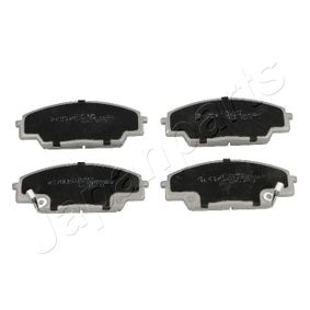 Brake Pad Set, disc brake Height: 52,2mm, Thickness: 15,6mm with OEM Number 45022S2AE50