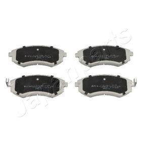 Bremsbelagsatz, Scheibenbremse Höhe: 54mm, Dicke/Stärke: 17mm mit OEM-Nummer 5810129A80