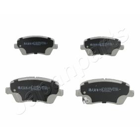 Brake Pad Set, disc brake Height: 52,5mm, Thickness: 16,8mm with OEM Number 5581062J31