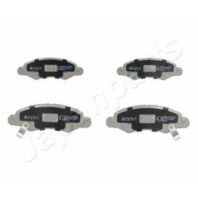 Bremsbelagsatz, Scheibenbremse Höhe: 44,5mm, Dicke/Stärke: 14,7mm mit OEM-Nummer 55810-84E01-000
